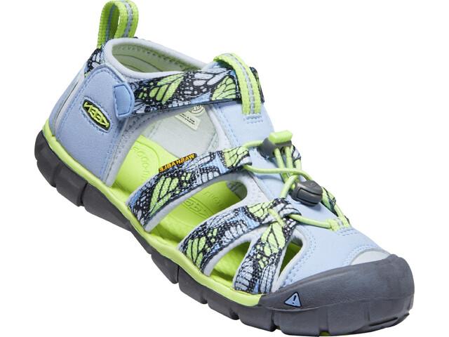 Keen Seacamp II CNX Sandals Kids hydrangea/sharp green